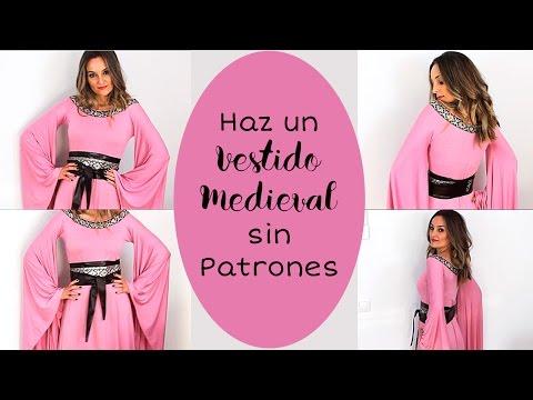 Haz Un Vestido Medieval Sin Patronaje. Fácil 🛡⚔ I Craftabulous