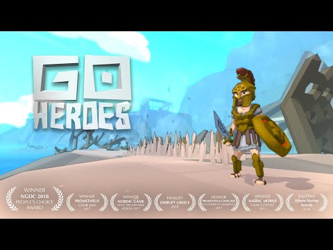 GO HEROES raw footage teaser de GO HEROES