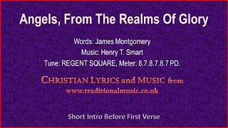 Angels, From The Realms Of Glory(BH094, MP035) - Christmas Carol Lyrics & Music