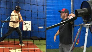 Koster: How hard is it to hit a 95 mph fastball?