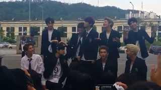 150912 UP10TION(업텐션) Mini fan meeting 미니팬미팅 Outro