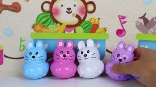 SURPRISE EGGS FOR KIDS TUTI TOYS