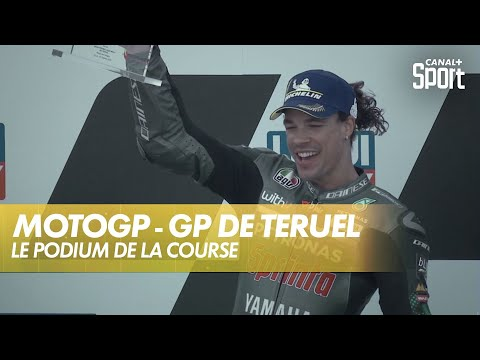 Le podium de la course - GP de Teruel