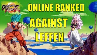 DBFZ: Games Against Leffen - Online Ranked PC