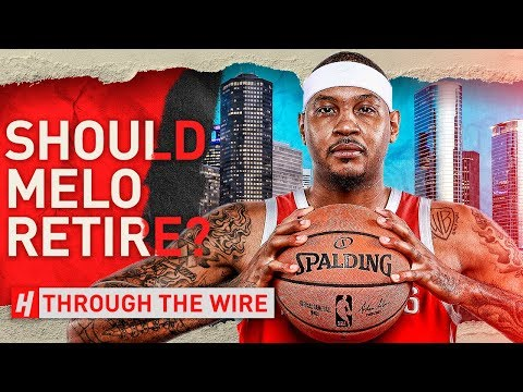 What's Next For Carmelo Anthony? | Through The Wire Podcast