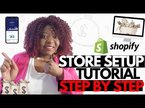 How to create your own online store with Shopify