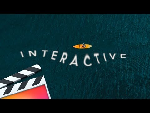 3 FCPX Creative INTERACTIVE Text & Title Ideas (TUTORIAL)