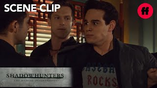 Shadowhunters | Season 2, Episode 12: Simon's Secret Is Revealed To The Vampires | Freeform