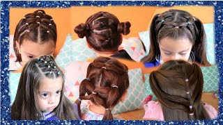 PEINADOS BONITOS PARA NIÑA L CUTE GIRL HAIRSTYLES  2020