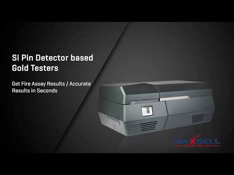 XRF Gold Purity Analyser - Detects Powder Ir Ru Os