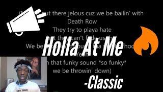 2Pac - Holla At Me Reaction