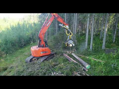 KESLA 28RH-II and Doosan DX 235 LCR