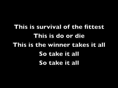 Eminem- Survival lyrics