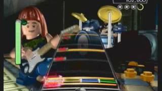 Lego Rock Band - Short & Sweet - Expert Drums