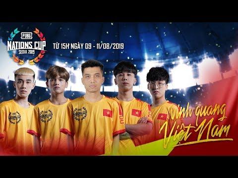 [PUBG Nations Cup] Final: Đội tuyển All-Star Việt Nam | Caster: Việt Anh - Phương Rùa - Hoàng Kunka
