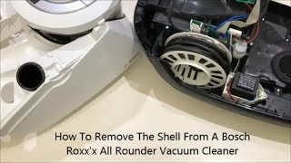 How To Remove The Shell From A Bosch Roxx
