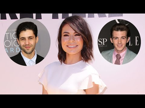 Miranda Cosgrove REACTS To Josh Peck & Drake Bell's Wedding Feud Drama (видео)
