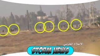 Сирия. Алеппо. Паника боевики бегут от САА и Хезболлы. просто жесть лезут из всех щелей