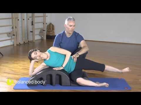 רוטציה של הירך ועמוד השדרה לשחיינים