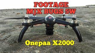 Footage MJX Bugs 5W (Upgrade camer onepaa x2000)