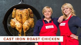 How to Make Crisp Roast Butterflied Chicken with Rosemary and Garlic