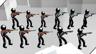 СНАЙПЕРЫ В СПЕЦНАЗЕ - Игра Battle Simulator : Counter Stickman #2  Игры на телефон