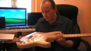 Video el. kytara Fender Stratocaster