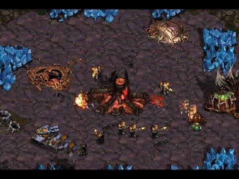 Hero (Z) v NaDa (T) on Neo Jungle Story - StarCraft  - Brood War REMASTERED