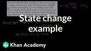 Change of State Example