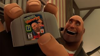 Cancelled SFM Video: TF2 90's Games