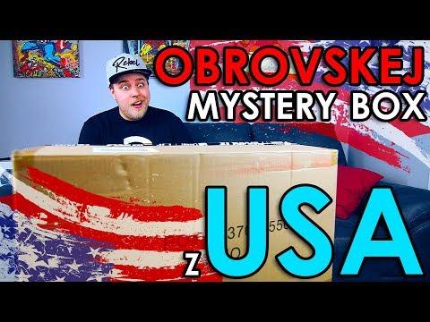 OBROVSKEJ MYSTERY BOX AŽ Z AMERIKY