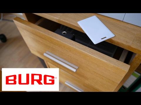 Elektronisches Kartenschloss montieren - Anleitung -