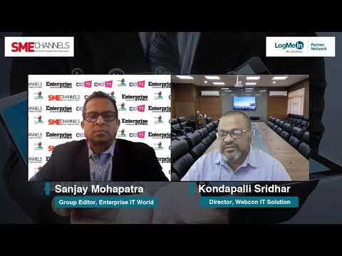 Kondapalli Sridhar, Director, Webcon IT Solutions Pvt. Ltd.