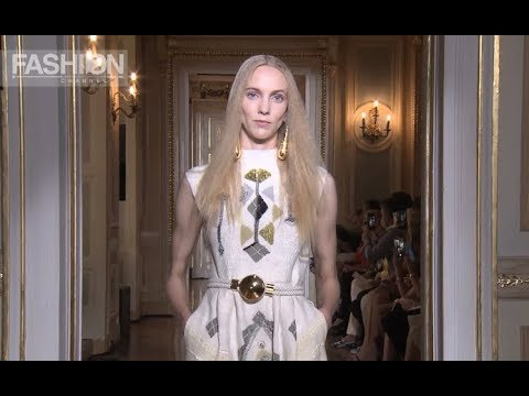CHRISTOPHE JOSSE Fall 2018 Haute Couture Paris - Fashion Channel