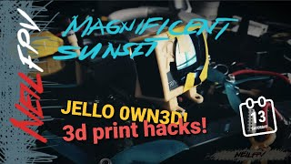 Surreal Sunset | Quadcopter/Drone hacks | Jello hack/DIY Neutral Density filter ... and more updates
