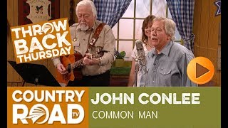 """John Conlee sings his huge hit """"Common Man"""" on Larry"""