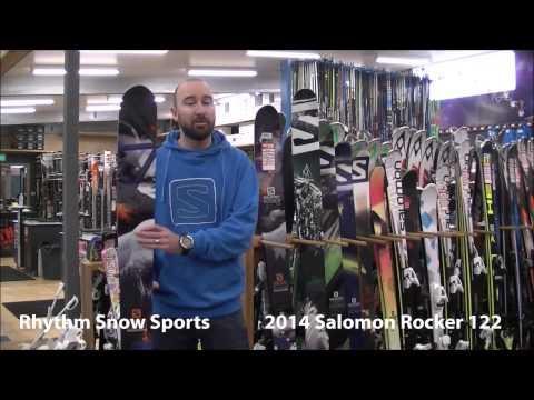2014 Salomon Rocker 122 Ski Review