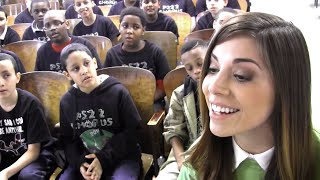 """A Thousand Years"" Christina Perri & PS22 Chorus"