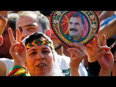 Γερμανία: Μεγάλη συγκέντρωση διαμαρτυρίας Κούρδων κατά του Ερντογάν