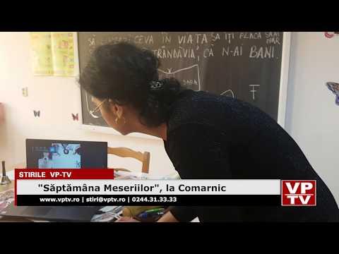 """""""Săptămâna Meseriilor"""", la Comarnic"""
