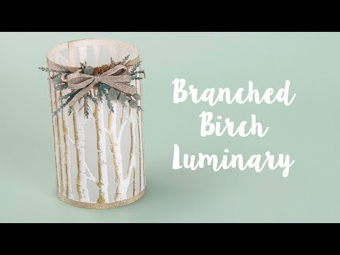 How to Make a Branched Birch Luminary!