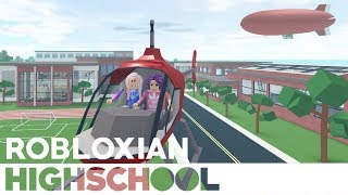 Roblox: Robloxian Highschool / New Activities: Helicopter Ride 🚁, Skydiving, & Cooking!