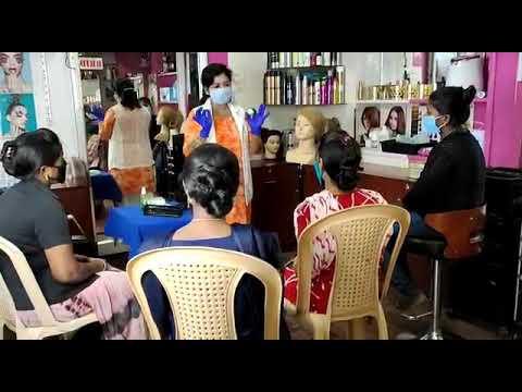 Beautician Training Course in Madurai - YouTube