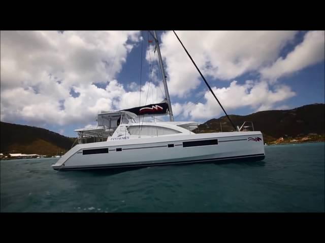 Yachting World Magazine -- Catamaran Sailing Techniques FULL -- Leopard 48 (Moorings 4800)