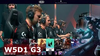 G2 Esports vs Excel | Week 5 Day 1 S10 LEC Spring 2020 | G2 vs XL W5D1