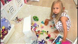 ВЛОГ Мне ПЛОХО / Я не знаю что со мной / Алиса не хочет убирать игрушки