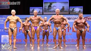 2012 World Championships BUDAPEST   master bodybuilding over 65y   1