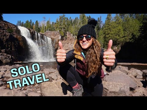 HIKING SOLO: Waterfalls, Woods & Smoked Salmon!