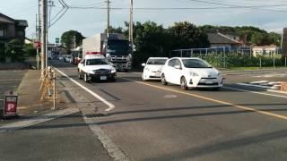 埼玉県警察上尾警察署所轄PC6200系クラウン緊急走行