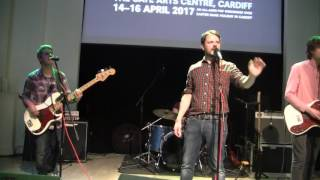 THE BOY LEAST LIKELY TO - Be gentle with me (Live @Wales Goes Pop -Cardiff-) (16-4-2017)